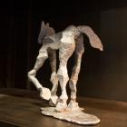 Glyphs – aluminum, Horse left backside