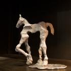 Glyphs – aluminum, Horse facing left