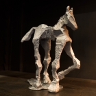 Glyphs – aluminum, Horse facing right