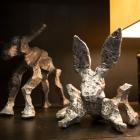 Glyphs – aluminum, Bunny & Steer Duo