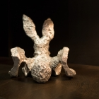 Glyphs – aluminum, Bunny backside