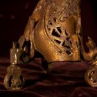 Helen on Wheels - lost wax bronze, detail