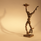 Irreverent Dancer - lost wax bronze