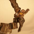 Irreverent 2 - lost wax bronze, detail