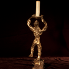 Irreverent 1 - lost wax bronze, back