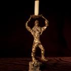 Irreverent 1 - lost wax bronze, front