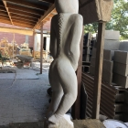Guardian – marble, back view