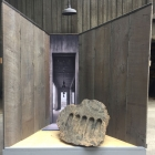 Promontory Live Auction Booth Design 2017 - Promontory Live Auction Booth Design 2017 by Paulo Ferreira and Olaf Beckmann: Rock slab with bottle recesses