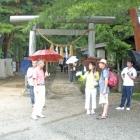 Temple at the wasabi farm