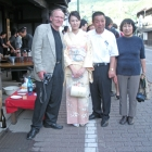 The art opening at the Salt Road Museum, Omachi