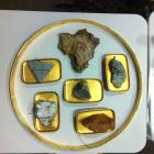 Stonestreet Tasting Room Environmental Design - vineyard rocks & minerals