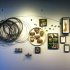 Stonestreet Tasting Room Environmental Design - tasting room wall left; photography, Olaf Beckmann