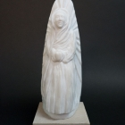 The Virgin Everywhere: Marble Sculpture by Paulo Ferreira - Front View
