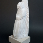 The Virgin Everywhere: Marble Sculpture by Paulo Ferreira - Right View