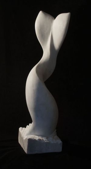 Tale: Marble Sculpture by Paulo Ferreira