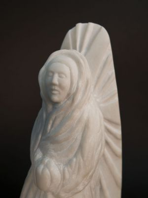 The Virgin Everywhere: Marble Sculpture by Paulo Ferreira